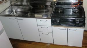 施工後 キッチン        工事費込 88.000円