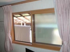 施工後 腰窓 1