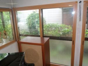 施工後 掃出窓 2