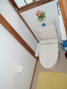 着工後 洋式トイレ
