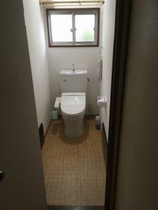施工後(ウォシュレット付節水トイレ)