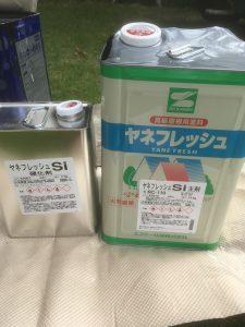使用材料 2液シリコン