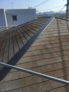 施工前 屋根①
